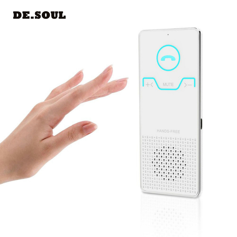 PARASOLANT Wireless Handsfree Bluetooth Car Kit Sun Visor Handsfree Speaker Speakerphone Car Audio MP3 Player Voice Broadcast hk009 wireless bluetooth 4 0 handsfree car speaker black