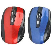 Best Quality 2.4GHz USB Portable Optical Wireless Mouse USB Receiver Mice Windows 2000/XP/Vista/Win 7/MAC computer accessoroes