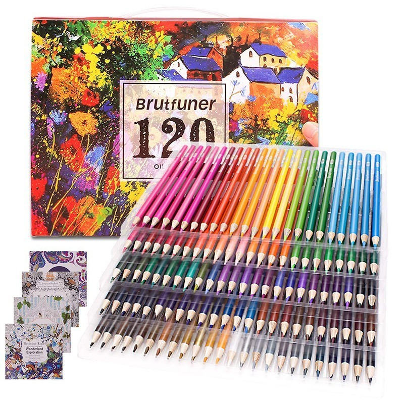 Colouring Pencils Adult Coloring Book Artist 120/160 Colour Pencil Set for  Artists, Kids, Skechers, Students Colouring Drawing