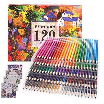 Colouring Pencils Adult Coloring Book Artist 120/160 Colour Pencil Set for Artists, Kids, Skechers, Students Colouring Drawing фото