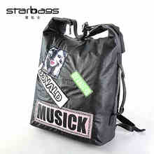starbags fashion rock style new collage letter backpack big capacity laptop women backpacks