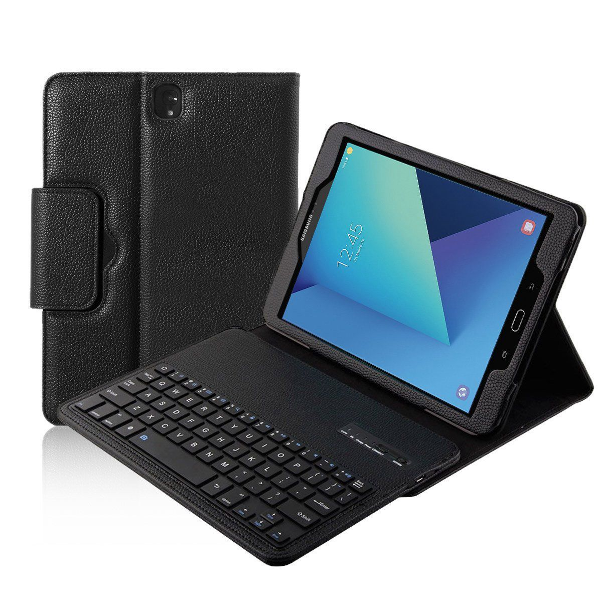 Smart Detachable Wireless Bluetooth Keyboard Cover for Samsung Galaxy Tab S3 9.7 inch T820 T825Tablet new detachable official removable original metal keyboard station stand case cover for samsung ativ smart pc 700t 700t1c xe700t