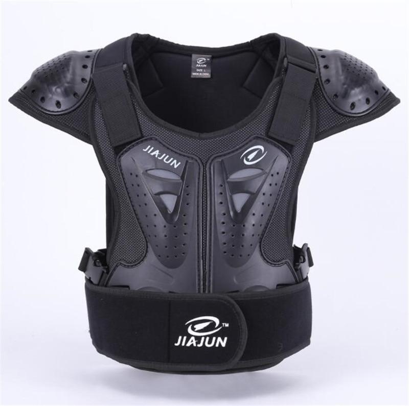 jiajun armadura motocicleta das mulheres dos homens de colete para o peito e costas protetor armadura
