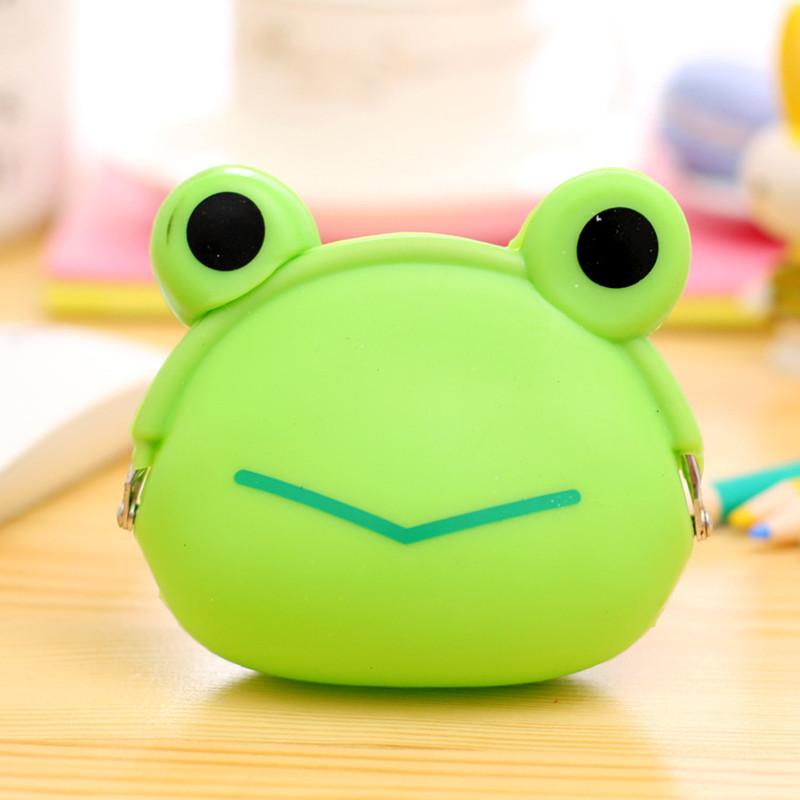 Cat Dog Frog Pig Women Coin Wallet Purse Mini Bag Kids Coin Purse Pouch Women Wallets Coins Bags For Children High Quality new brand mini cute coin purses cheap casual pu leather purse for coins children wallet girls small pouch women bags cb0033