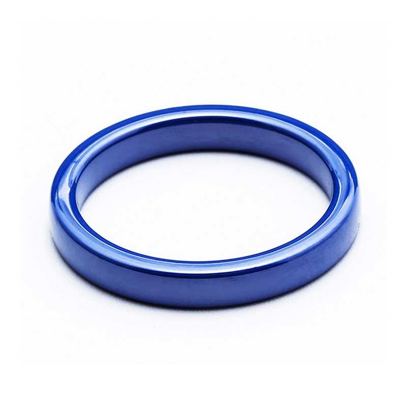 DICARLUNBlue สีดำแหวนเซรามิคสีขาวสีชมพูสำหรับแหวนผู้หญิงเครื่องประดับเคลือบเซรามิค 3 มม.ง่าย Minimalist งานแต่งงานของขวัญ 2019