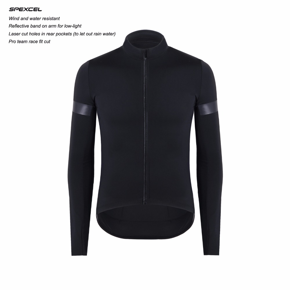 2018 mise à jour de la technologie SPEXCEL coupe-vent et protection contre la pluie maillot de cyclisme protection à manches longues vêtements de vélo combinés