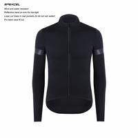 SPEXCEL Top Autumn Winter Windproof And Rain Protection Cycling Jersey Long Sleeve Breathability And Protection Combined