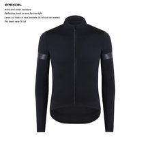 2018 UPDATE CUT SPEXCEL Technology Windproof and rain protection Cycling Jersey long sleeve protection combined Bicycle clothes(China)