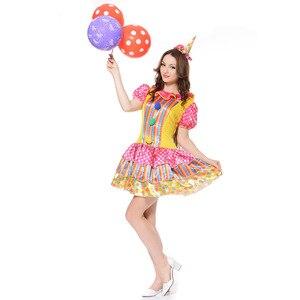Halloween Girl Clown Masquerad