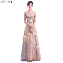 fb11588d553d LPTUTTI Sequin Gratuating New For Women Elegant Date Ceremony Party Prom Gown  Formal Gala Luxury Long Evening Dresses