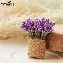YiYaoFa, broche Victoriano de lavanda, joyería gótica Vintage hecha a mano, accesorios para mujeres, regalo, ramillete bonito YBR-37