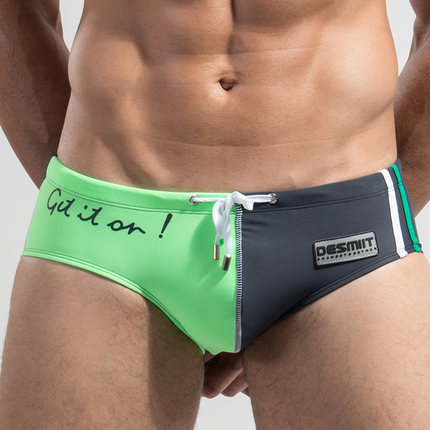 2018 Sexiga Mäns Baddräkter Baddräkter Herr Bikini Man Långa Midja Baddräkter Baddräkt Män Märke DESMIIT M XXL
