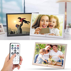 VODOOL 15.4 Inch Digital Photo Frame 1280X800 Metal HD LCD Screen