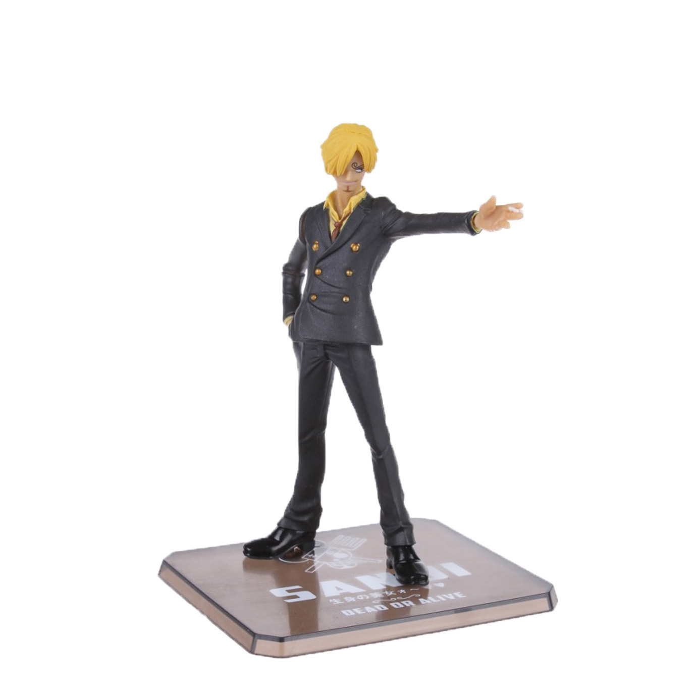 Chanycore Anime ONE PIECE Cartoon Two Years Later New World sanji 14cm Action Figures PVC onepiece toys doll model collection