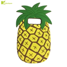 New 3D Fruit Pineapple Phone Cases sFor Fundas Samsung Galaxy Note 8 Soft Silicon Rubber Back Cover for Samsung Galaxy Note 8