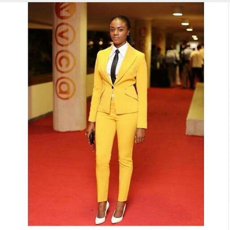 Light Pink 2019 Fashion Womens Business Suits 2 Piece Blazer Set Slim Fit Female Office Uniform Ladies Pant Suits