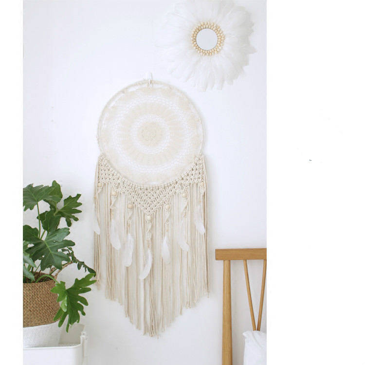 Customized Wind Chimes Indian Style native American dream catcher tapestry Perfect Dream Catcher Net Wall Hanging Decorations