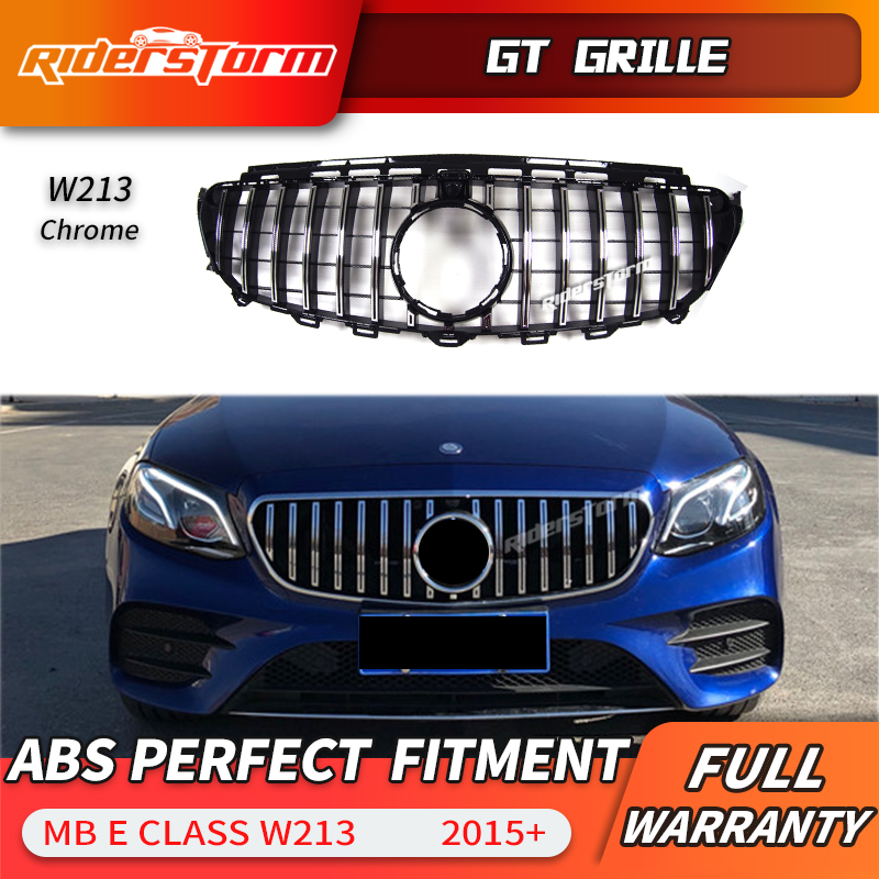 11. 11 promotion For W213 A MG GT Grille E43 E450 Front Grill for Mercedes Benz E Class 2015+E200 E300 E250 E320 E350 grille e lov women casual walking shoes graffiti aries horoscope canvas shoe low top flat oxford shoes for couples lovers