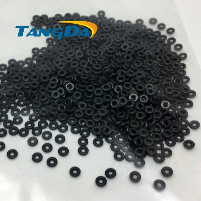 Tangda 3,1 1,3 0,8 RH сердечник мягкой ферритовый OD * ID * HT 3,1*1,3*0,8 мм полые шарик фильтр цилиндрический сердечник EMI против вмешательства AW