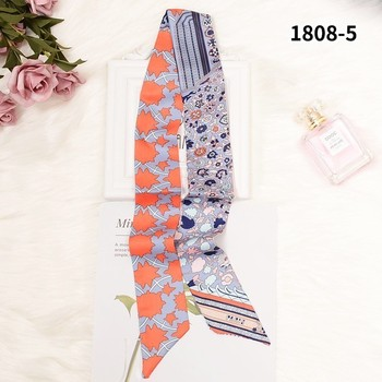 Brand Luxury 6colors Women Sharp-angled Scarf Water Glass Cup Prints Long Wraps Scarves Shawl Handkerchief Bag Decor 10