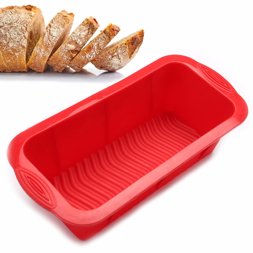 Round Silicone Non-stick Cake Pizza Bread Pan Mold Bakeware Baking Tray Mould Y