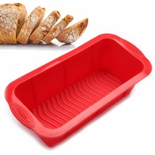 3D Bread Pan – Best Bakeware for Baking Loaf and Large Cakes – Commercial Grade Non Stick Silicone Mold