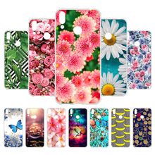 Fashion Phone Case For Huawei Honor 8C Case Honor8C Protective Soft Silicone Cases For Huawei Honor 8C Cover Back Shell Bumper(China)