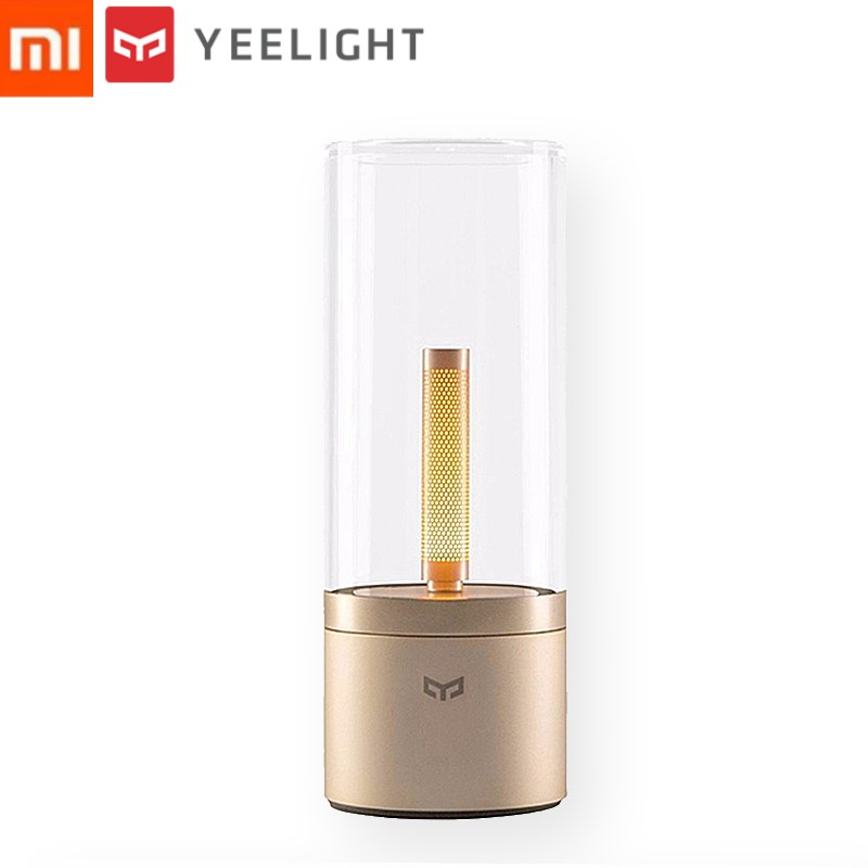 Original Xiaomi Yeelight Mijia Candela Smart Control Led Night Light of Mood Light Xiaomi Smart Home Kits For Mi Home Smart APP xiaomi yeelight led ceiling pro 650mm rgb 50w work to mi home app and google home and for amazon echo for xiaomi smart home kits