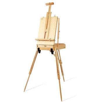 Caballete para artista Chevalet En Bois Caballete para la Pintura De Caballete...