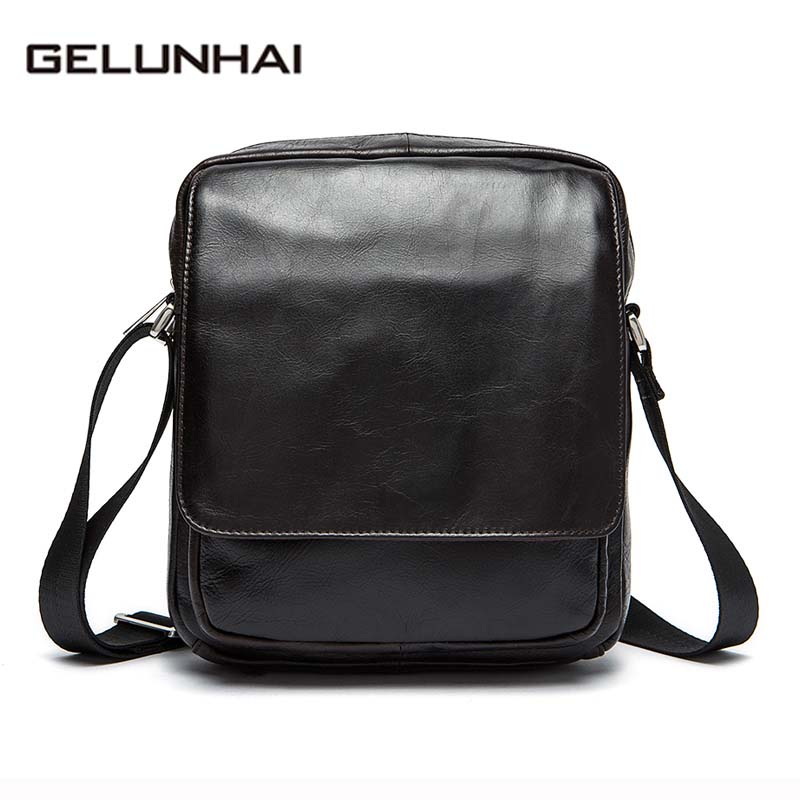 2017 Direct Selling Casual New Style Genuine Leather Bag Design Bags Men's Small Crossbody Men Messenger Male Shoulder Handbag diiwii bag new men casual small genuine leather shoulder bags leather messenger crossbody travel bag handbag