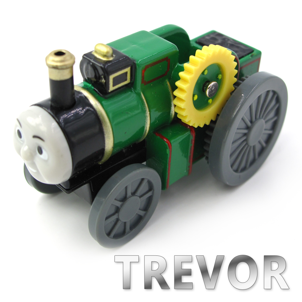 Diecasts Vehicles Thomas T135D TREVOR Thomas And Friends Magnetic Tomas Truck Car Locomotive Engine Railway Train Toys for Boys