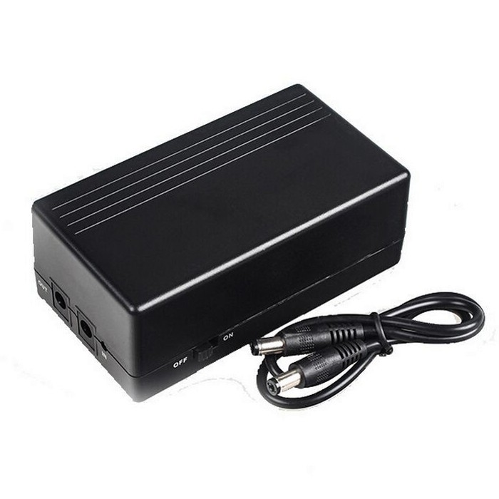 12V1A 14.8W Mini UPS Battery Backup Security Standby Power Power Supply Uninterruptible Power Supply High Quality ...