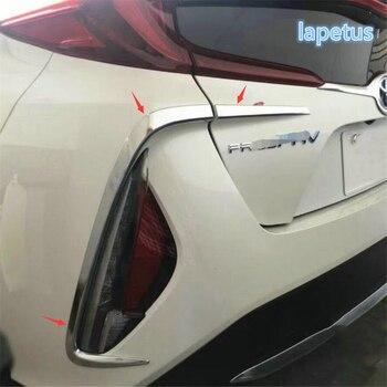 Lapetus フロント & ライトランプ装飾トリム明るいトヨタプリウスのため首相 PHV 2017 2018/ABS