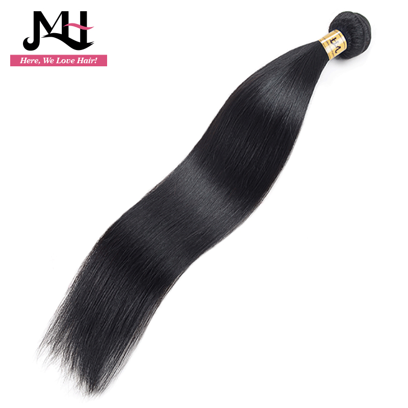 Jvh Peruvian Straight Hair Weaving 8 28 Remy Hair Natural Color