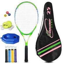 Racket tenisas Aukštos kokybės Naujas Junior Teniso raketės treniruotės teniso raketės vaikams (10-12 metų) Jaunimas Vaikams
