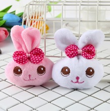 1piece random design cute little 9cm bowknot rabbit animals plush toys - kawaii Plush Stuffed Toy Doll