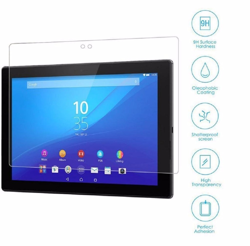 SIBAINA 0.3mm Explosion-Proof Protect Films For Sony Xperia Z4 Tablet 10.1 Tempered Glass Screen Protector For Xperia Tablet Z4