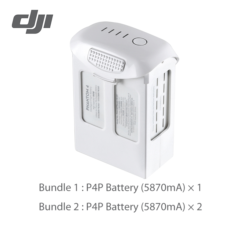 Batterie DJI Phantom 4 pro 5870mAh batterie de vol intelligente haute capacité originale-in Drone Batterys from Electronique    1