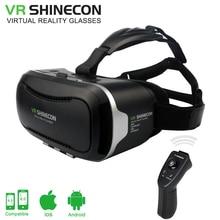 VR Shinecon 2.0 Google Cardboard VR BOX 2.0 Virtual Reality goggles VR 3D Glasses Immersive for 4.5-6.0 inch smartphones