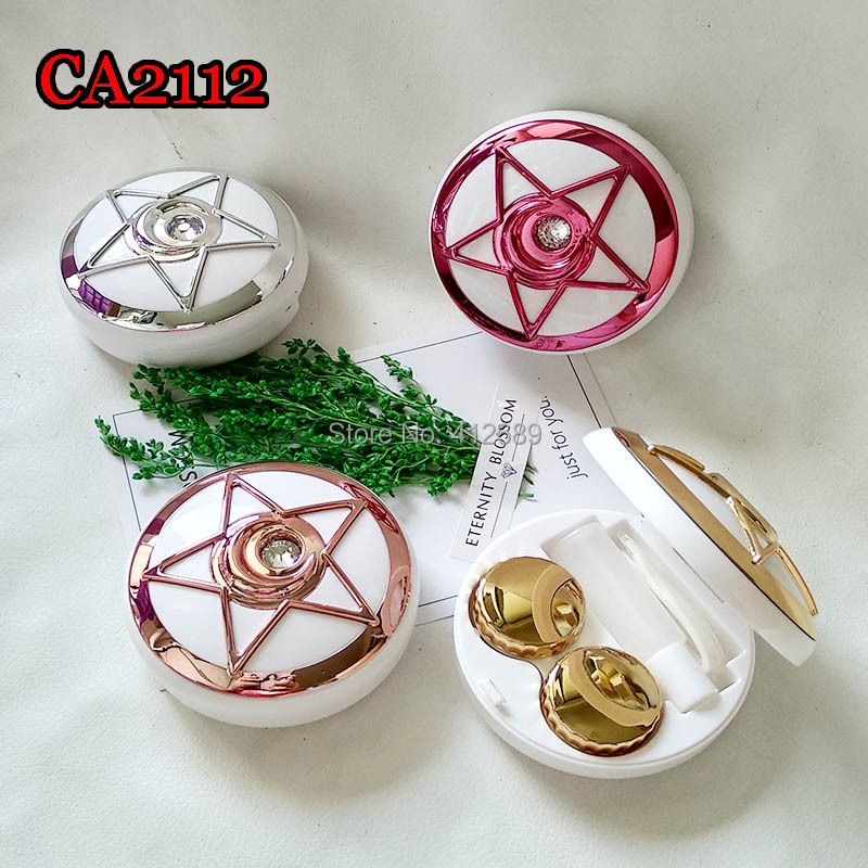 CA2112 SAILOR MOON STAR WITH DIAMOND CONTACT LENS CASE