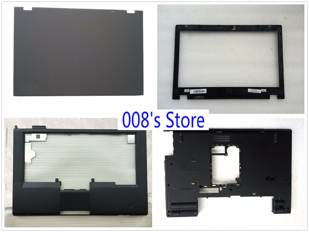 New Laptop LCD Top Back/Front Bezel/Bottom Base Case Cover For Lenovo Thinkpad T430 T430I Camera Hole 04X0380 04Y1474 0C51603