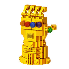 Thanos Building Blocks Legoingly Energy Stones Gloves Marvel New Avengers 4 Endgame Block Compatible With Super Hero Bricks Toys недорого