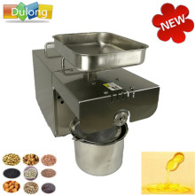 350W Motor oil press machine stainless steel cold-press seed oil extractor, oil expeller, heat press machines for home
