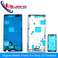 Original New Middle Frame Bezel Housing Cover Case For Sony Xperia Z3 Compact mini D5803 D5833 Free Shipping