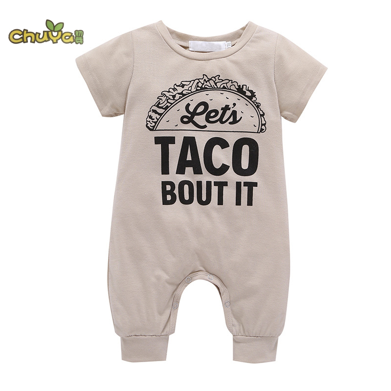Chuya Retail New Fashion Baby Romper Clothing Body Suit Newborn Short Sleeve Kids Boys Girls Rompers Baby Clothes Roupa Infantil puseky 2017 infant romper baby boys girls jumpsuit newborn bebe clothing hooded toddler baby clothes cute panda romper costumes