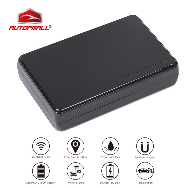 AT3 Asset GPS Tracker Car 3G Vehicle Tracker 5400mAh Battery 5 years Standby Magnet Waterproof GPS Locator APP Realtime Tracking