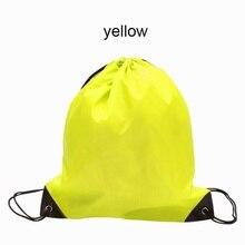 Bolsas de deporte Premium Cordón Duffle Bag Sport Gym Swim School Danza Zapato Mochila 2017 Bolsas Al Aire Libre