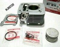 Full set Cylinder Kit with Piston Rings For CBR 125cc Engine Yamaha Motorcycle FK125/150 11A suzuki atv bike parts