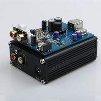 2016 New Breeze Audio ESS ES9018K2M AD823 SA9023 USB DAC Decoder External Sound Card Headphone Amplifier