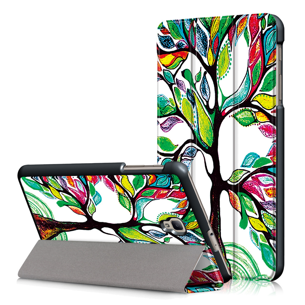 Hot Sale Cover Case For Samsung Tab A 80 2017 Sm T380 T385 Flip Book Galaxy 8 Inch Magnet Stand Smart Sleep Coque Funda